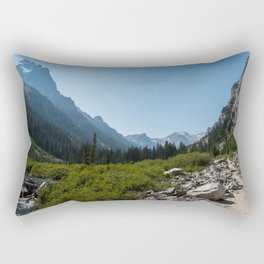 Cascade Canyon, Grand Teton National Park Rectangular Pillow