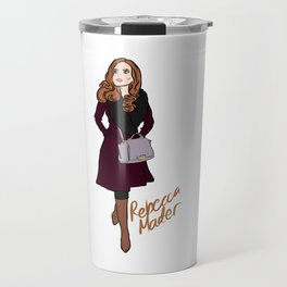 Rebecca Mader (strolling in Chicago, 2018) Travel Mug