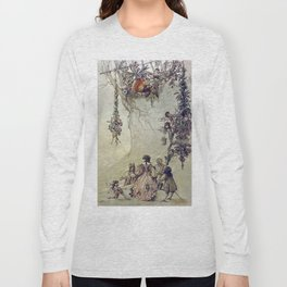 """The Fairies Ascent"" by A. Duncan Carse Long Sleeve T-shirt"