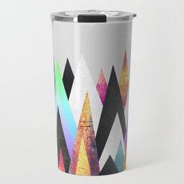 Colorful Peaks Travel Mug