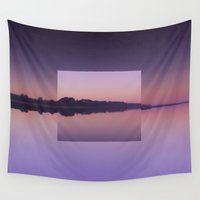 breathe Wall Tapestries featuring Breathe by Jessie Rose