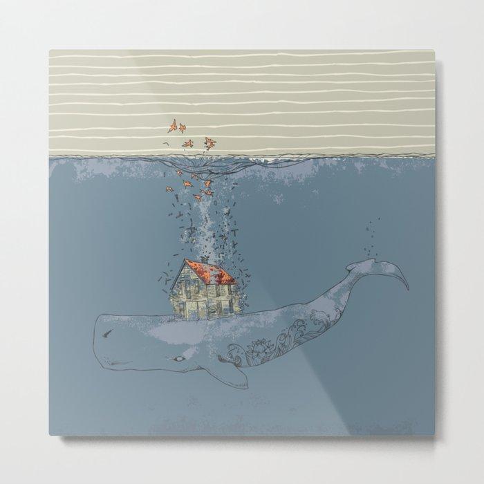Ocean Home Metal Print
