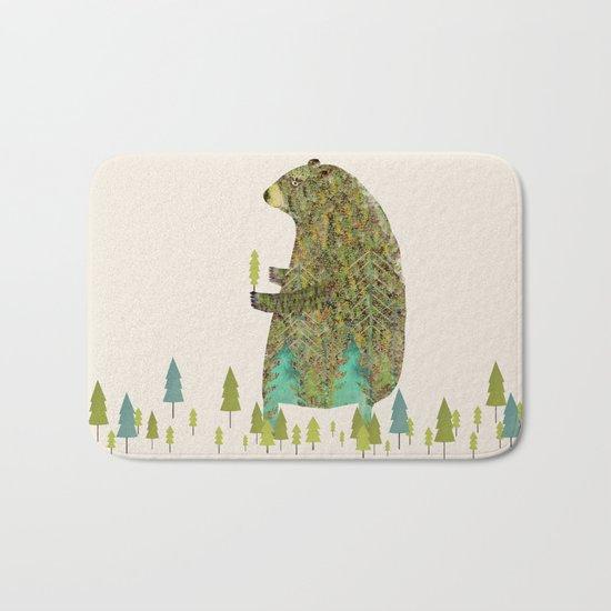 the forest keeper Bath Mat