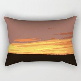 Serengeti Sunset Rectangular Pillow
