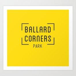 Ballard Corners Park Art Print