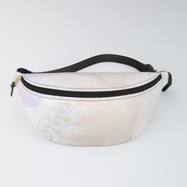 Ocean Treasure -- Mother of Pearls Mandelbrot Fanny Pack
