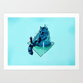 The Vermin: Raccoon 2 Art Print