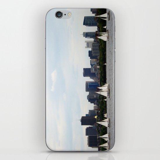 Boston skyline iPhone & iPod Skin