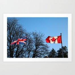 British/Canadian Art Print