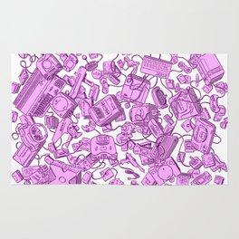 Retro Gamer - Pink Rug