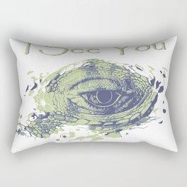 i see you - ayes Rectangular Pillow