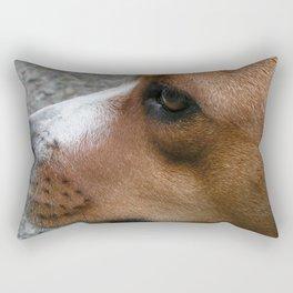 Thelma A Boxer Mix Rectangular Pillow