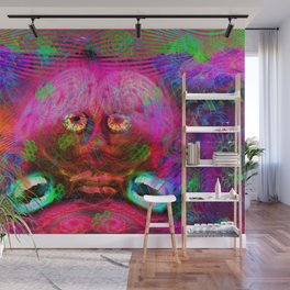 Overactive Brain Wall Mural