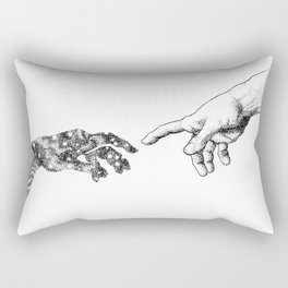 The Creation of Outer Space Rectangular Pillow