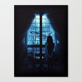 Nightly Visit Canvas Print