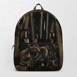 Hanging Keys-Brown Backpack