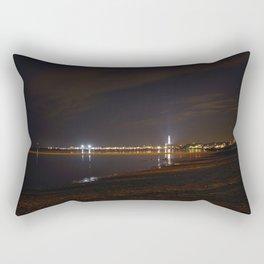 Province town at night Rectangular Pillow
