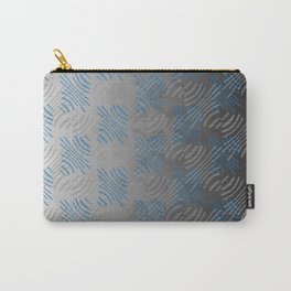 Pinched Lines Carry-All Pouch