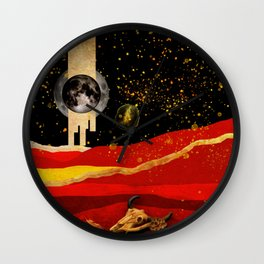 Desert Night Wall Clock