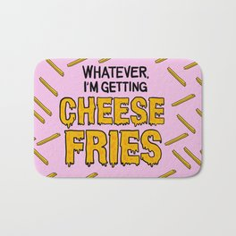 Cheese Fries Bath Mat