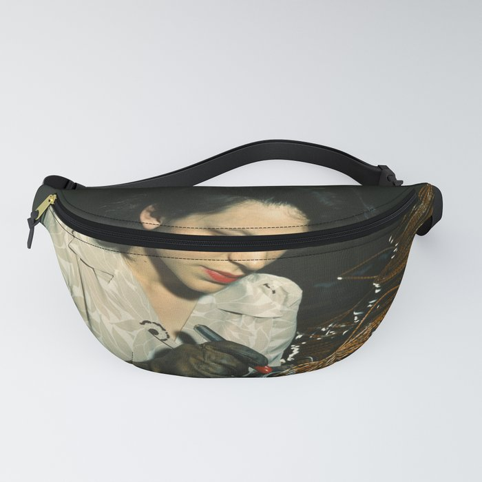 WWII Woman Aircraft Worker Fanny Pack