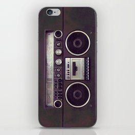 Retro Boombox iPhone Skin