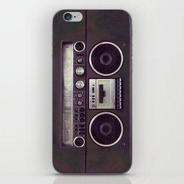 Retro Boombox iPhone Skin
