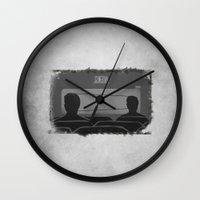 cassette Wall Clocks featuring cassette  by gazonula