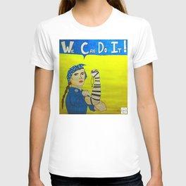 Jewish Rosie the Riveter T-shirt