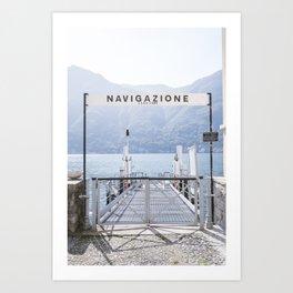 Navigazione Art Print