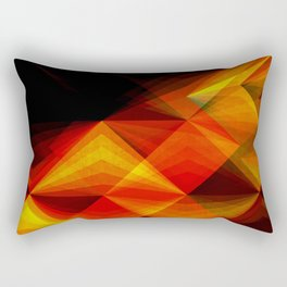 Koi Against the Current Rectangular Pillow