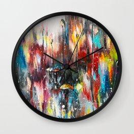 Rainy London Wall Clock