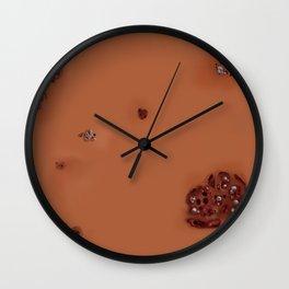 Mango Worms Wall Clock