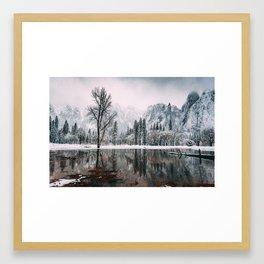 Yosemite Valley Mirror Framed Art Print