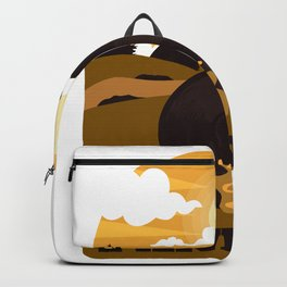 Gold wash pan Backpack