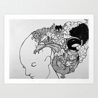 Rupture Art Print