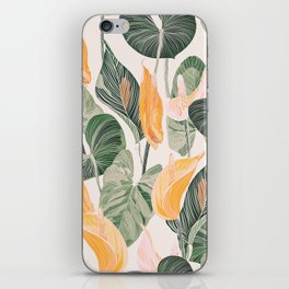 Lush Lily - Autumn iPhone Skin
