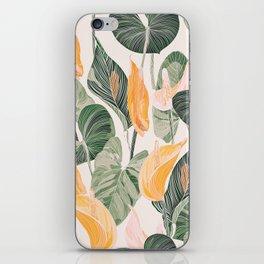 Lush Lily - Autumn iPhone Skin