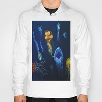 jelly fish Hoodies featuring Jelly-Jelly-Fish by Fknjedi1