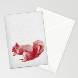 Squirrel 01 Stationery Cards