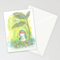 remember to breathe Stationery Cards