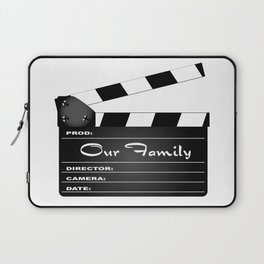 Our Family Clapperboard Laptop Sleeve