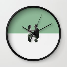 Jo and Alex Wall Clock
