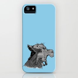 Newspaper Lions iPhone Case