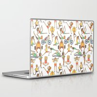 gym Laptop & iPad Skins featuring Gym Buddies by Sid's Shop