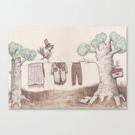A bird Canvas Print