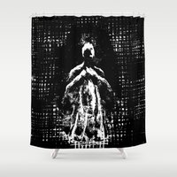 ghost Shower Curtains featuring Ghost by Art is Vast
