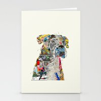 mod Stationery Cards featuring the mod boxer by bri.buckley