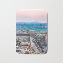 Sunset in the Lost World Bath Mat