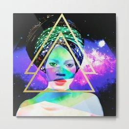 Golden triangle Metal Print